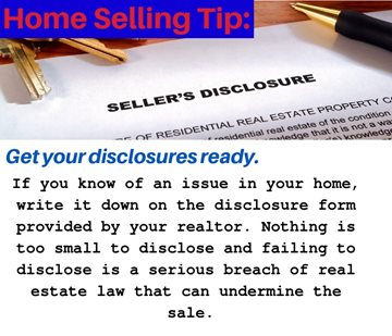 Get Your Sellers Disclosure Ready