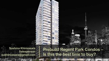 Prebuild Regent Park Condos – Is this the best time to buy